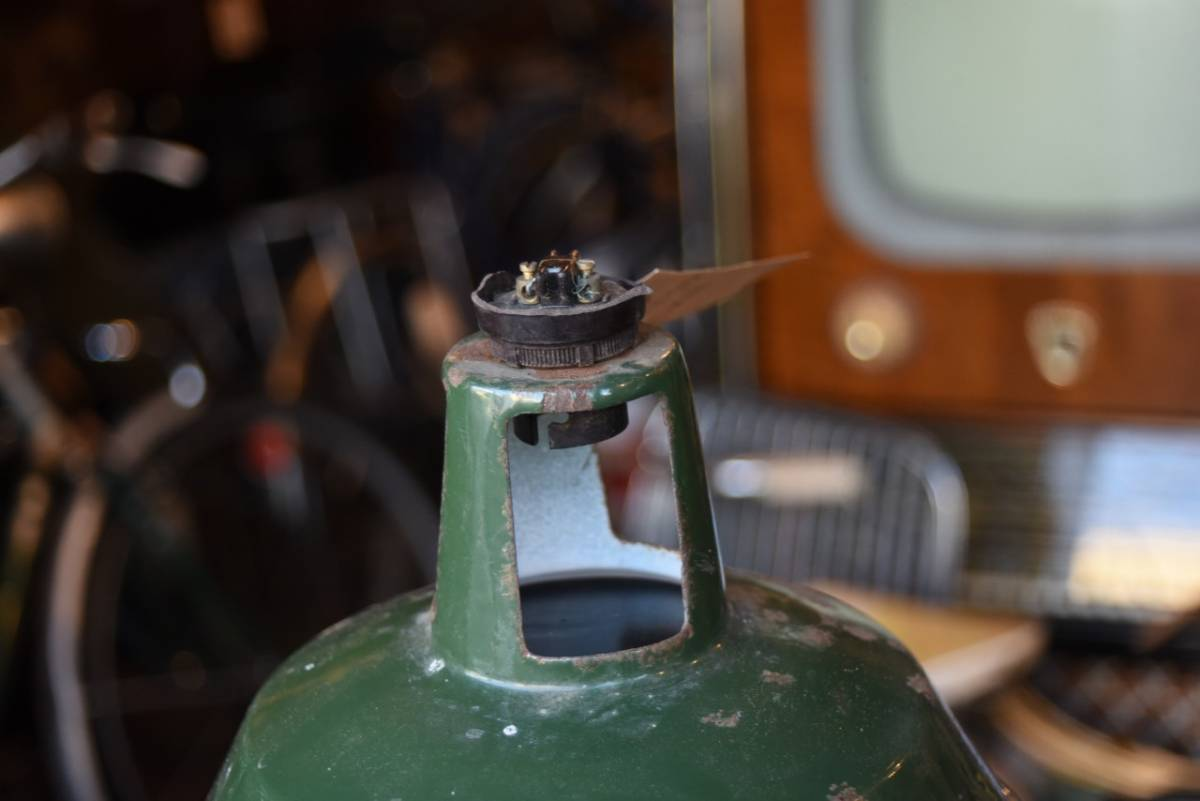 101629 ヴィンテージ エナメルランプシェード ホウロウ UK  インダストリアル MADE IN ENGLAND 英国 アンティーク ビンテージ_画像2