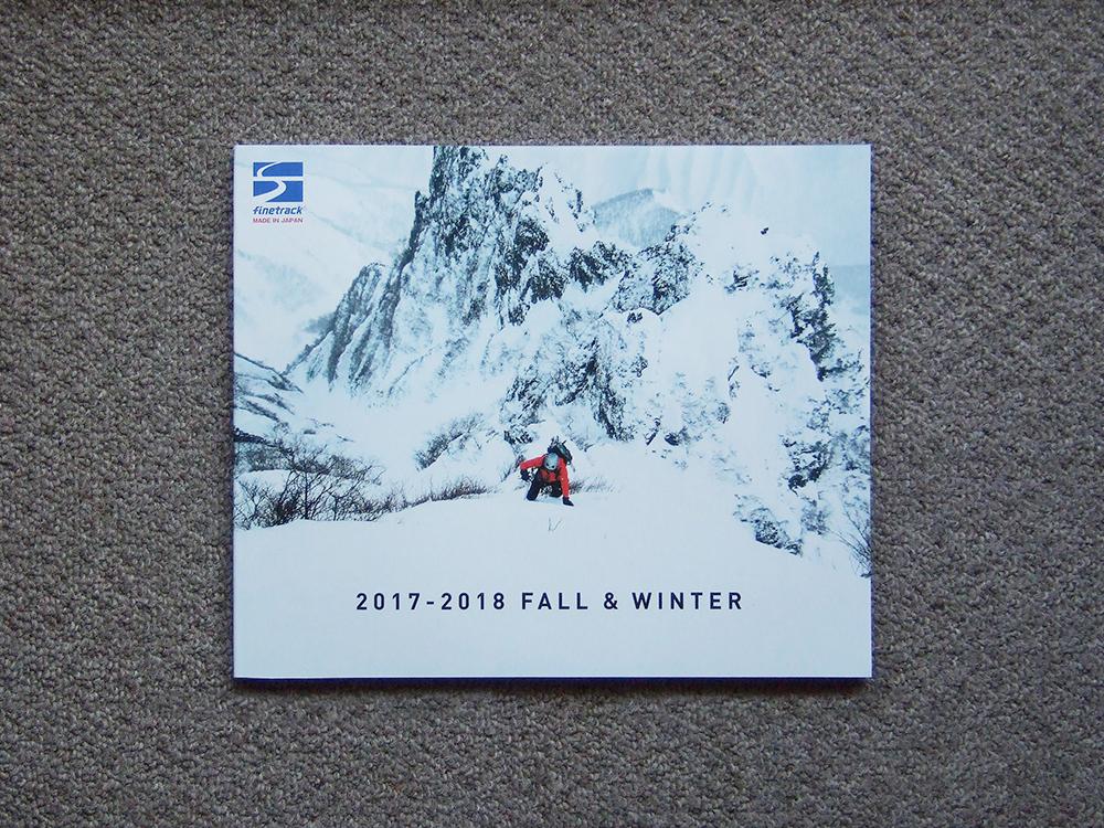 【カタログのみ】finetrack 2017-2018 FALL & WINTER 検 ファイントラック ジャケット パンツ テント 寝袋_画像1