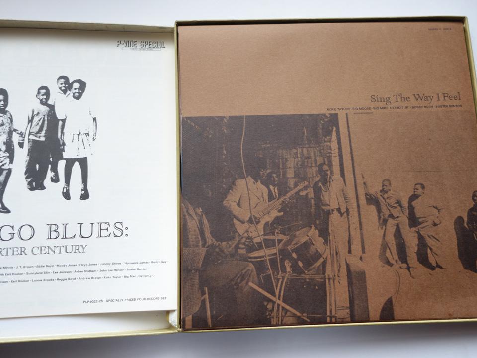 4枚組BOX 帯付 シカゴ・ブルースの25年 美品 RLP-9022 定価6500円 P-VINE_画像2