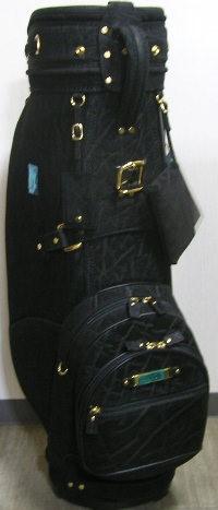 ★★ 新品 限定 究極の超高級 キャデイバッグ マジェスティ MAJESTY 象皮革 1296000 ブラック