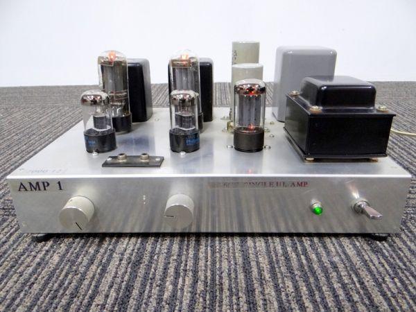 SANSUI タムラ製作所 自作真空管アンプ HS-5 6SL7WGT N029