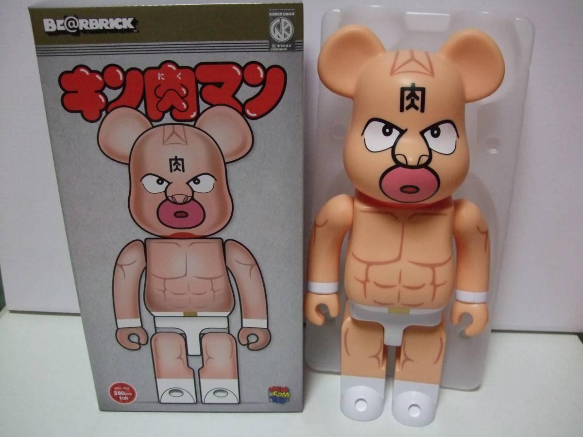 新品未開封 本物正規品 キン肉マン ベアブリック 400% (BE@RBRICK キン消し ゆでたまご 少年ジャンプ)_※開封した参考画像です。