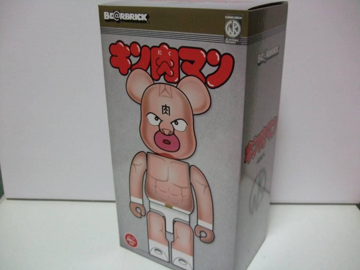 新品未開封 本物正規品 キン肉マン ベアブリック 400% (BE@RBRICK キン消し ゆでたまご 少年ジャンプ)_画像2