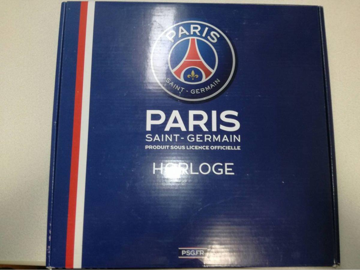 送料込み 新品 未使用 美品 Paris Saint-Germain パリ・サンジェルマン 壁掛け 時計 送料無料
