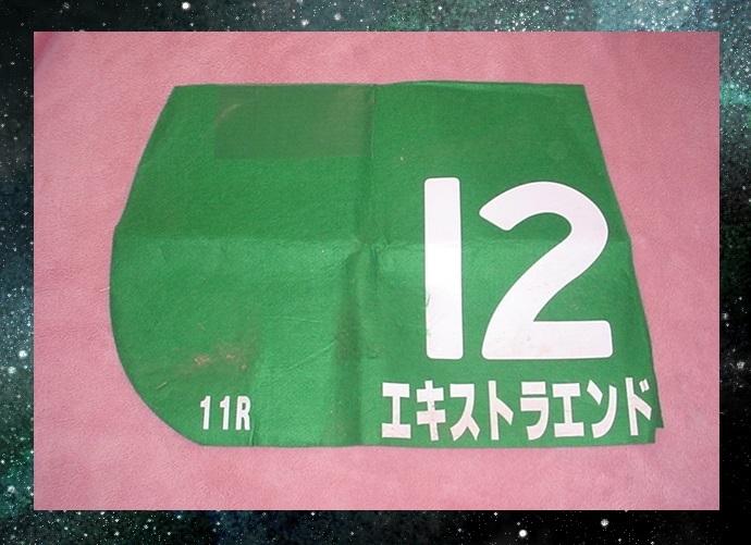 ● エキストラエンド 東京新聞杯(GⅢ) 競馬実使用ゼッケン