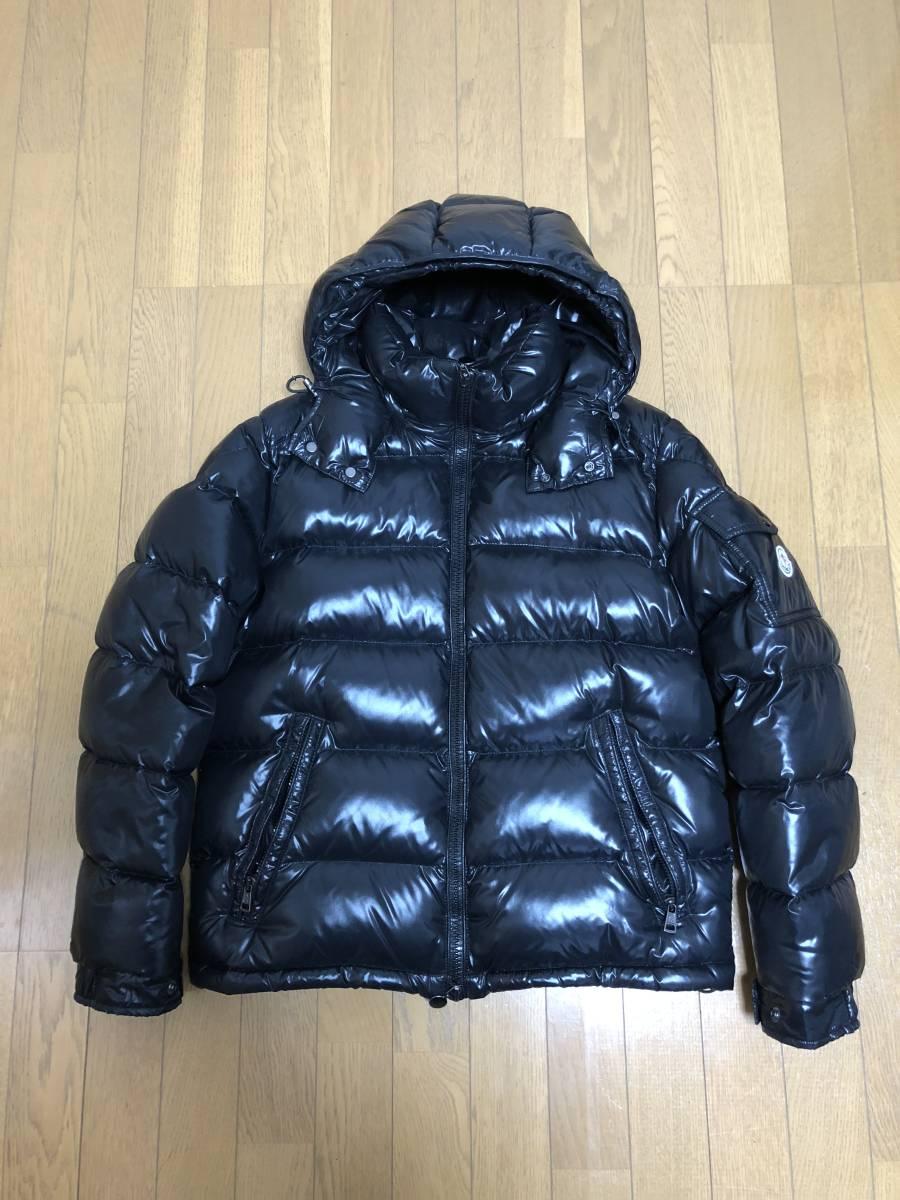 【新品同様】国内正規品 モンクレール マヤ MONCLER MAYA ダウンジャケット ブラック サイズ2