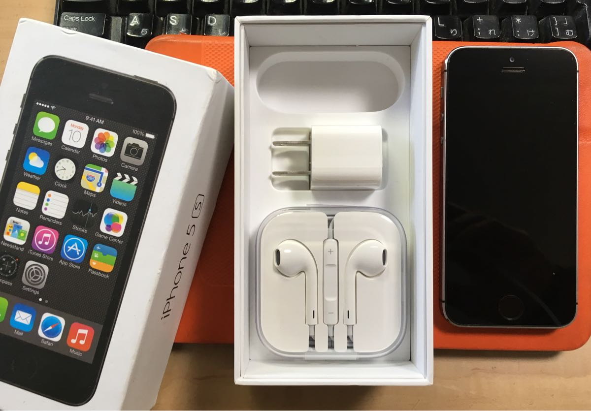 iPhone5s64GスペースブラックDocomo送料無料
