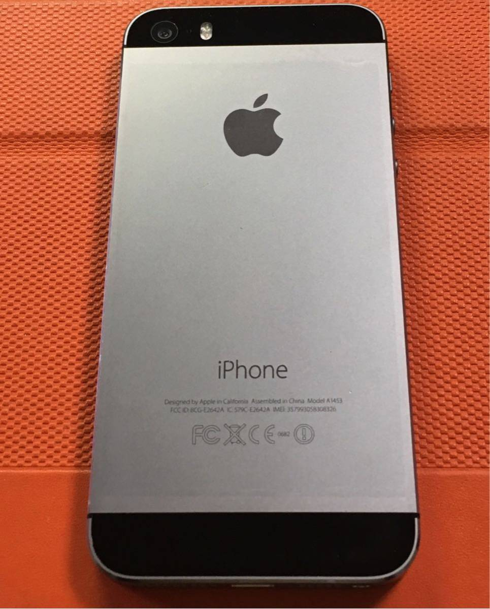 iPhone5s64GスペースブラックDocomo送料無料_画像3
