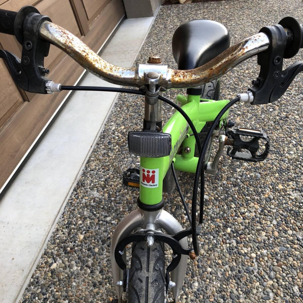 一台ニ役 へんしんバイク グリーン キックスクーター バランスバイク ストライダー好きな方必見_画像3