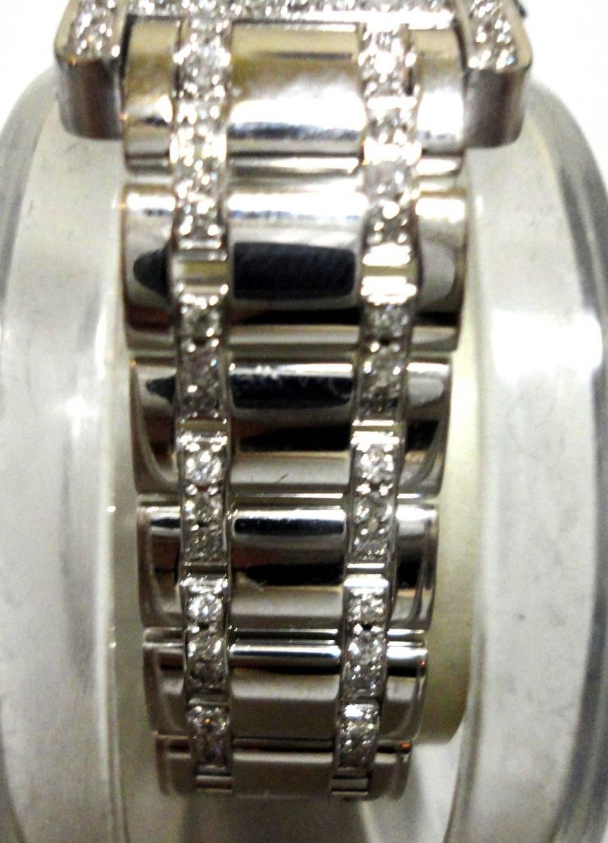 Cartier カルティエ WG タンクアメリカンMM ベゼル アフターダイヤ加工します カスタム WB7045MP W1506056 K18YG WB520027 K18 WB520010_画像8