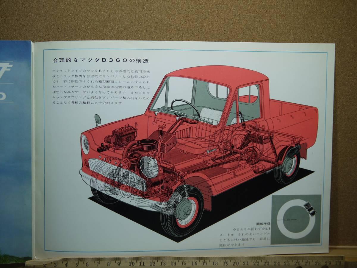 ≪旧車カタログ≫01601 MAZDA B360 KBBA 緑_画像3