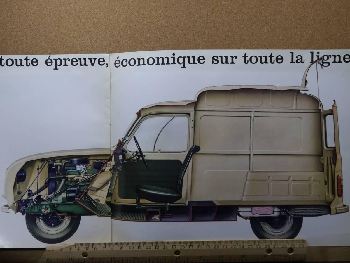 ≪旧車カタログ≫01612 ルノー 4 fourgonnette _画像4