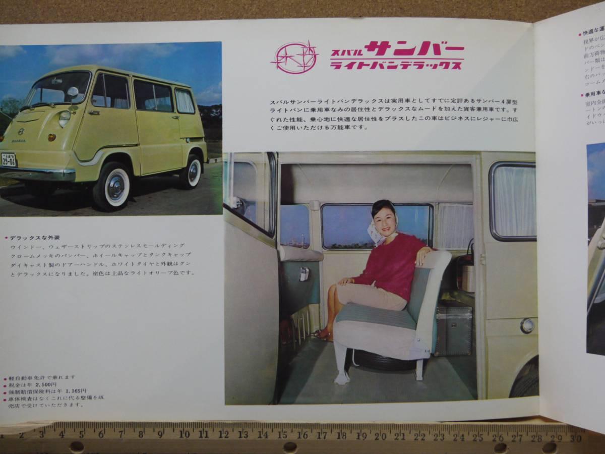 ≪旧車カタログ≫01626 スバル サンバー  湖畔_画像2