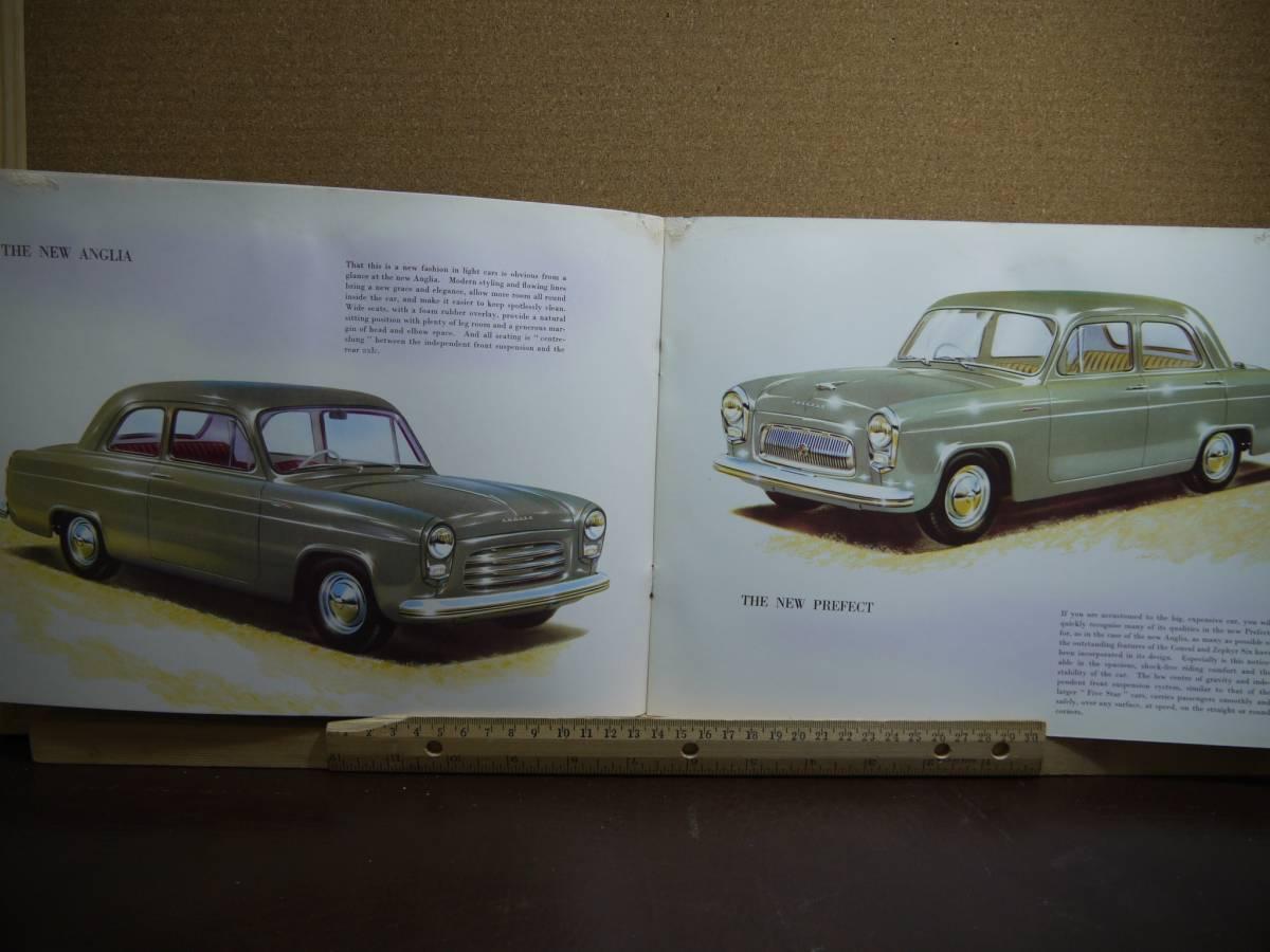 ≪旧車カタログ≫01664 FORD Anglia & Prefest_画像2