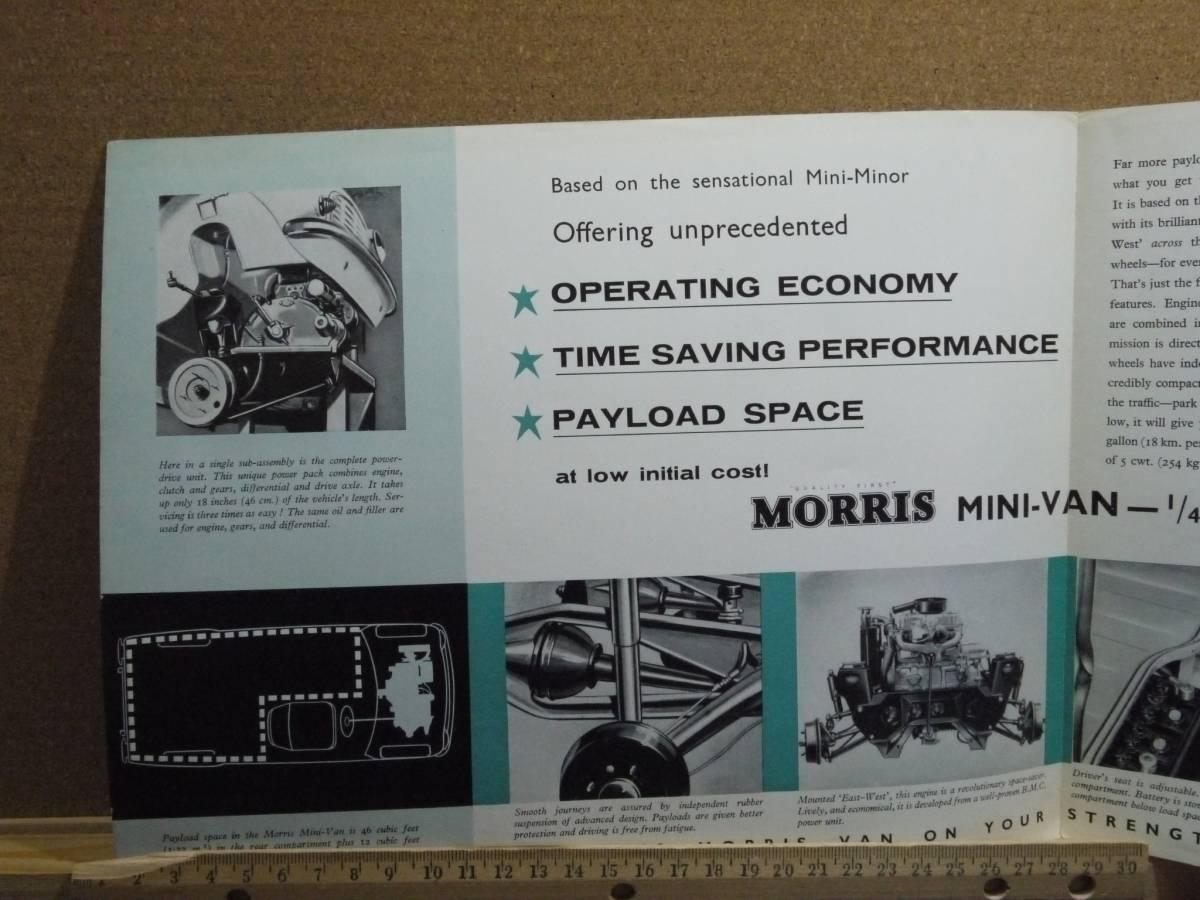 ≪旧車カタログ≫01675 Morris Mini Van_画像3