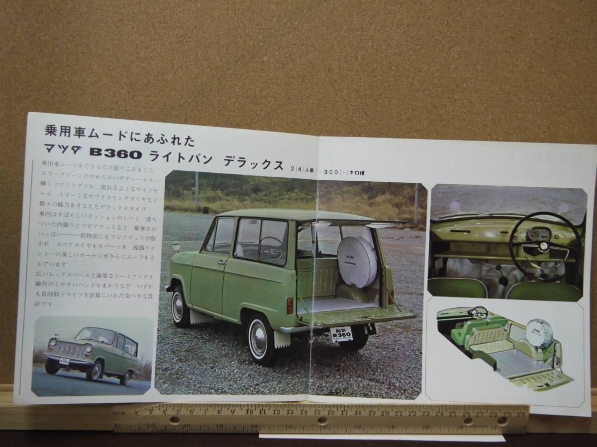 ≪旧車カタログ≫01721 MAZDA B360 ライトバン_画像3