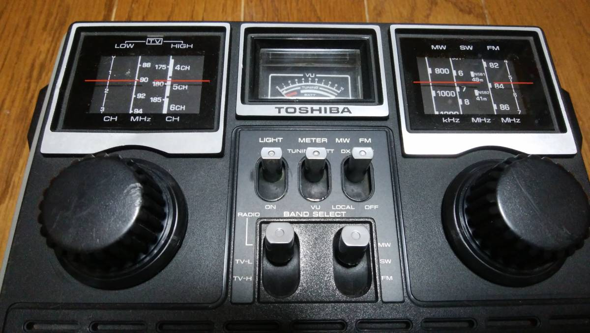 ♪ TOSHIBA 東芝 MODEL RP-770F SOUND750GTV 動作品、美品 ♪_画像2