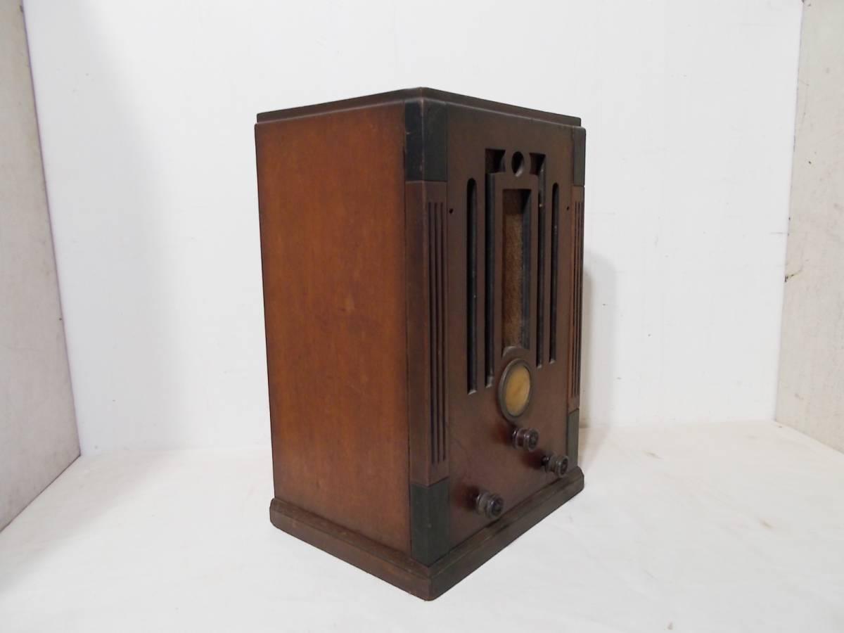 ◆古い真空管式ラジオ◆中央電気特選ナナオラ放送受信機150型◆◆アンティーク_画像4