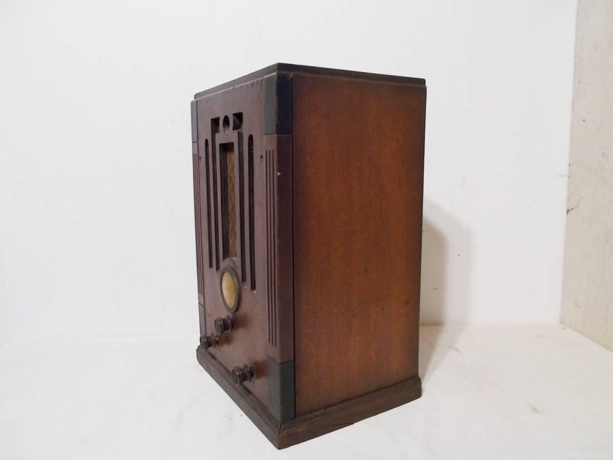 ◆古い真空管式ラジオ◆中央電気特選ナナオラ放送受信機150型◆◆アンティーク_画像5