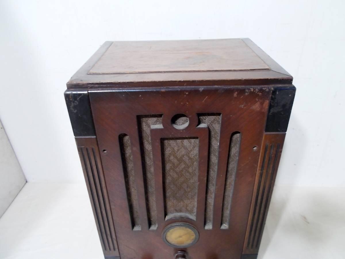 ◆古い真空管式ラジオ◆中央電気特選ナナオラ放送受信機150型◆◆アンティーク_画像6