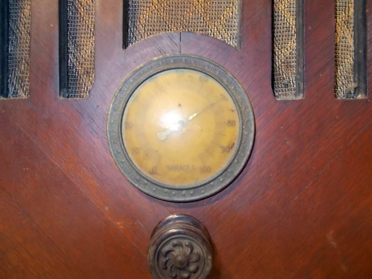 ◆古い真空管式ラジオ◆中央電気特選ナナオラ放送受信機150型◆◆アンティーク_画像7