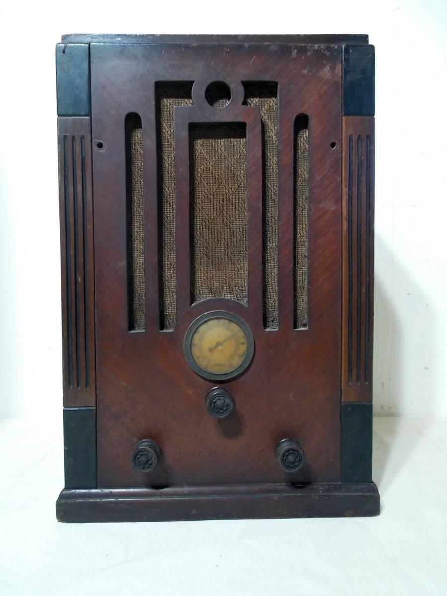 ◆古い真空管式ラジオ◆中央電気特選ナナオラ放送受信機150型◆◆アンティーク