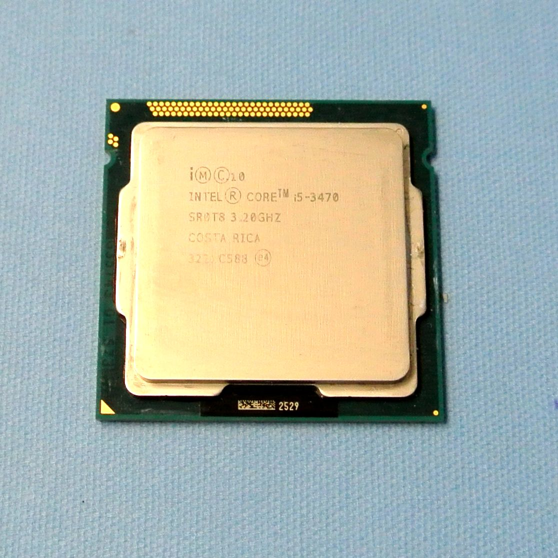 送料込★動確済★Intel Core i5-3470 3.20GHz/6MB/4コア/LGA1155/SR0T8/Z77・Q77・H77 対応