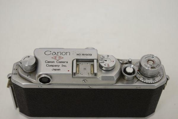 ☆Canon キャノン Canon ⅣSb改 (4Sb改型) / 50mm 1:1.8 / 1784C_画像6