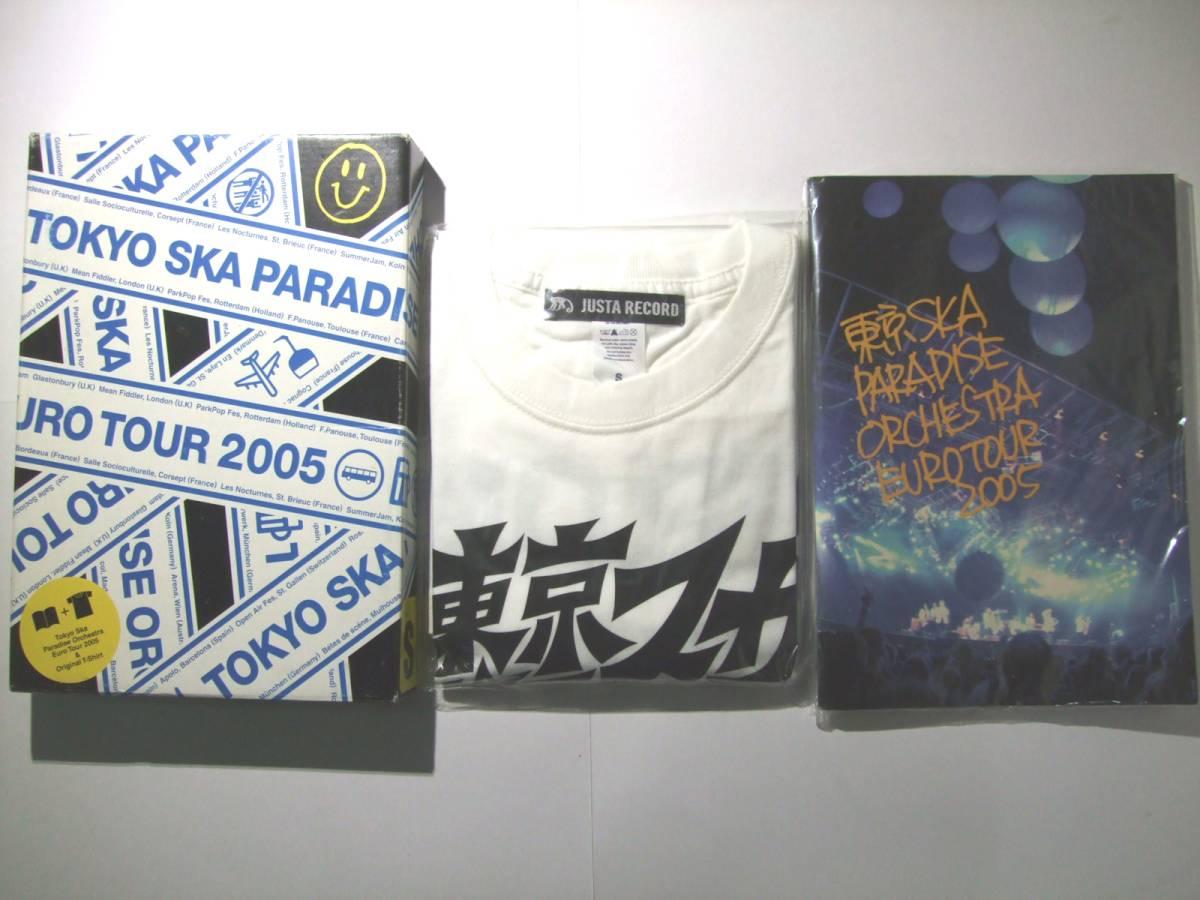 ★東京スカパラダイスオーケストラ★ スカパラ EURO TOUR 2005 写真集 Tシャツ セット★ ミュージシャン グッズ