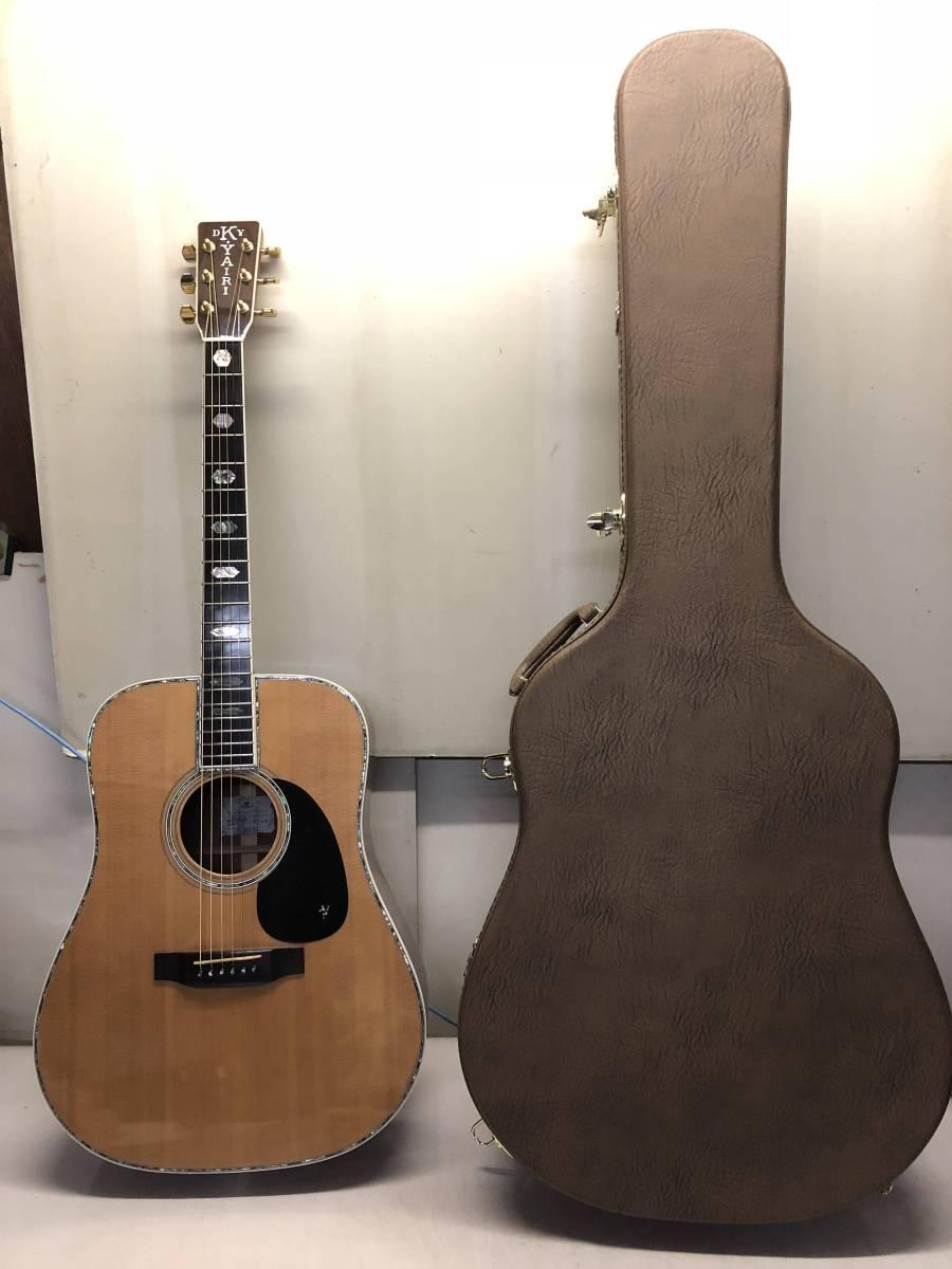 [s564412685 中古 美品 アコースティックギター]K.YAIRI DY-45 ケース付き