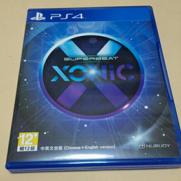 PS4 SuperBeat Xonic 中文版