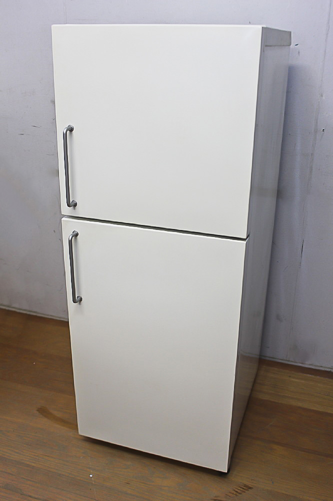 ★ 大人気 無印良品/東芝 M-R14C 137L 2ドア冷蔵庫 棚割れ 08年製 ★