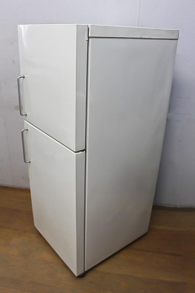 ★ 大人気 無印良品/東芝 M-R14C 137L 2ドア冷蔵庫 棚割れ 08年製 ★_画像2