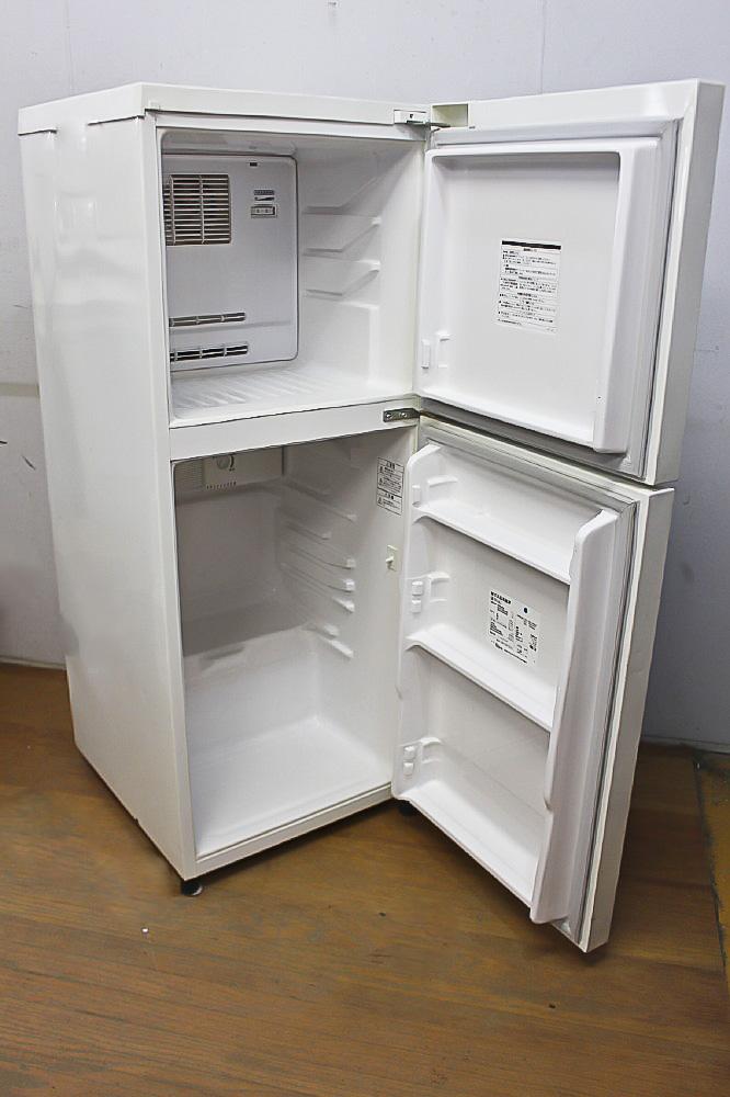 ★ 大人気 無印良品/東芝 M-R14C 137L 2ドア冷蔵庫 棚割れ 08年製 ★_画像5