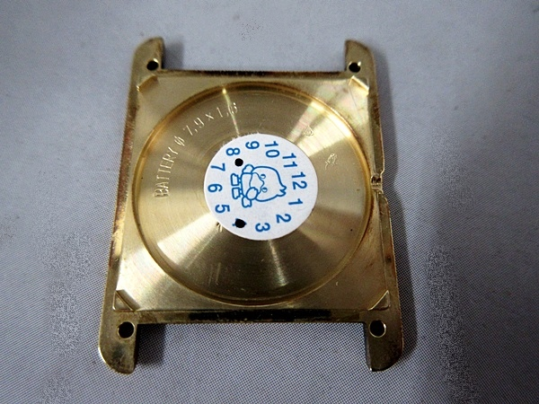 16/52-11 カルティエ Cartier シルバー 925 MUST TANK VERMEIL マストタンク ヴェルメイユ 腕時計 レディース クォーツ_画像6