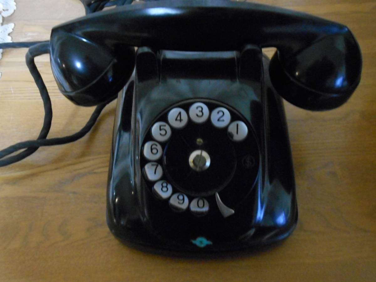 昭和 36年 黒電話4号 富士通_画像6