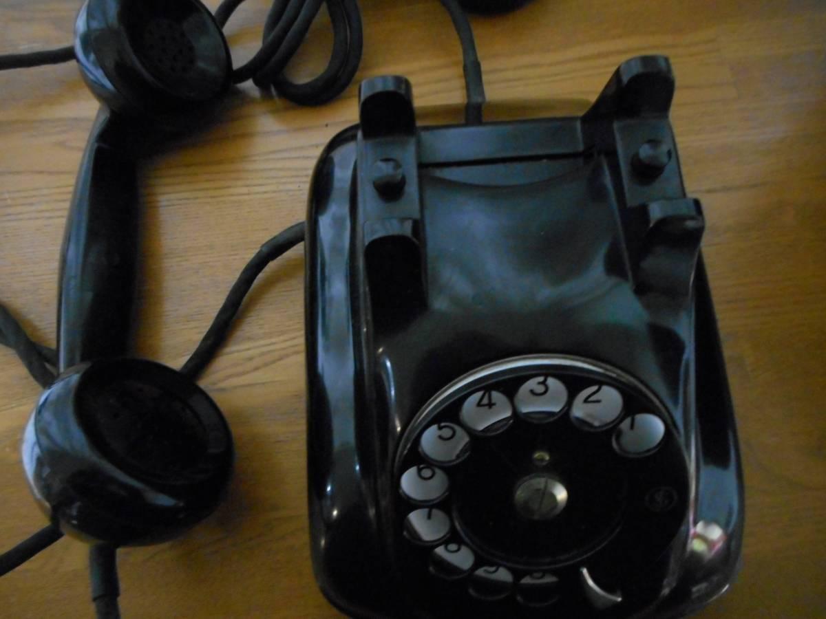 昭和 36年 黒電話4号 富士通_画像3