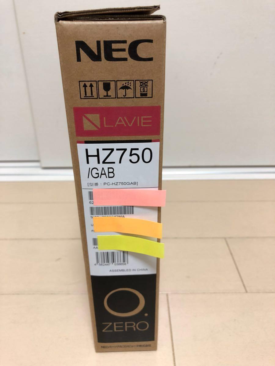 NEC LAVIE HZ750/GAB 新品未開封_画像3