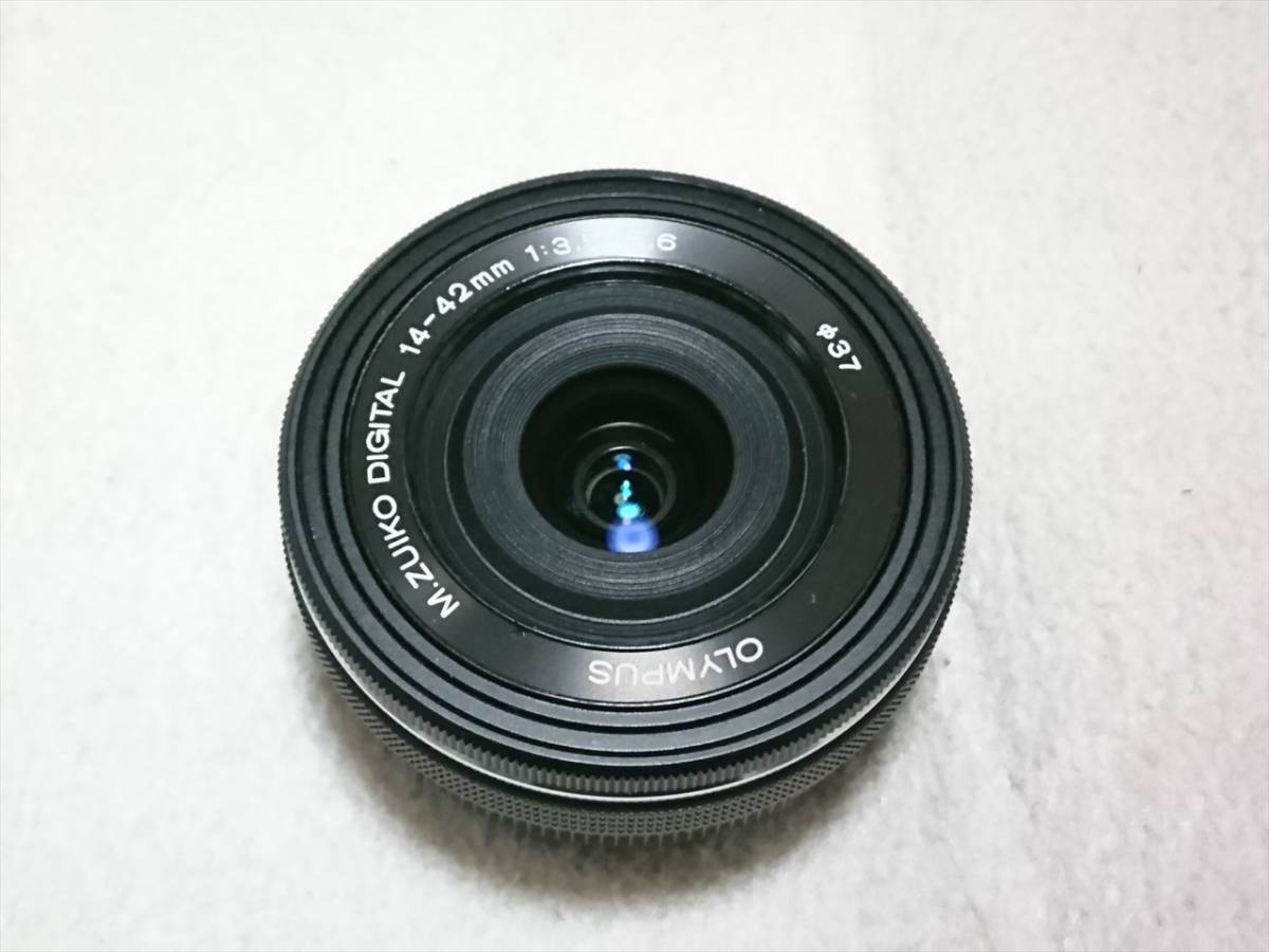 ★☆OLYMPUS オリンパス OM-D E-M10 Mark II 14-42mm EZレンズキット 自動開閉レンズキャップ付 美品!送料込!☆★_画像5