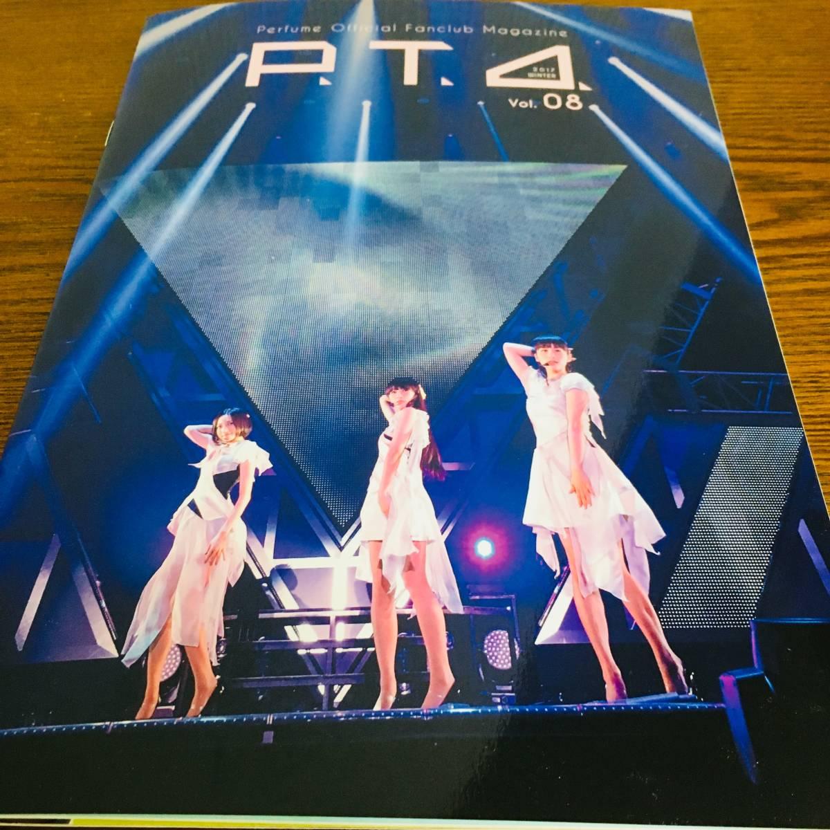 新品未使用 Perfume ファンクラブ 会報 グリーティング カード 継続特典 P.T.A vol.4-vol.8 クリスマスカード パスケース_画像3