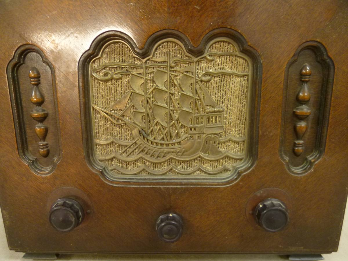 ヘルメス 受信機 真空管 ラジオ アンティーク (60) _画像3