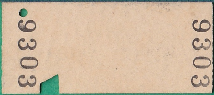 鉄道硬券切符181■池田から利別ゆき 10円 39-9.10_画像2