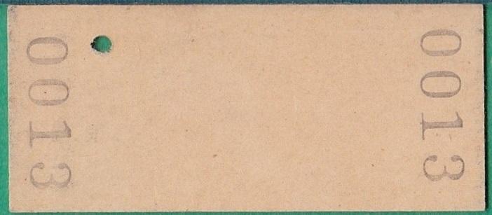 鉄道硬券切符247■雫石から春木場ゆき 10円 39-9.13_画像2