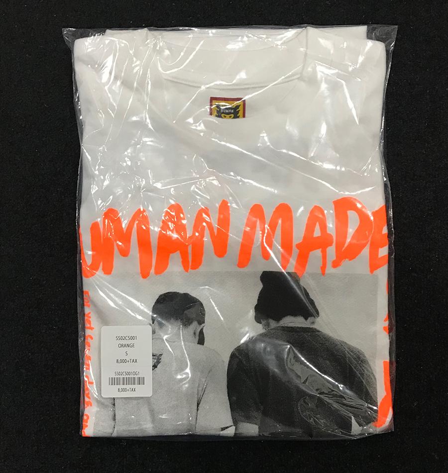 HUMAN MADE × SEVEN HM7 T-SHIRT ヒューマンメイド Tシャツ オレンジ Small NIGO NAOTO 即納 送料込
