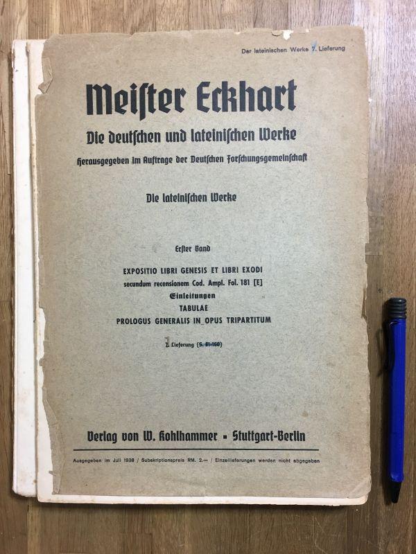 洋書古書 Meister Eckhart Werke マイスター・エックハルト全集一括_画像4