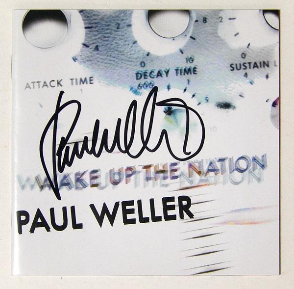 ★★【ポール・ウェラー/PAUL WELLER】直筆サイン入りCD★★
