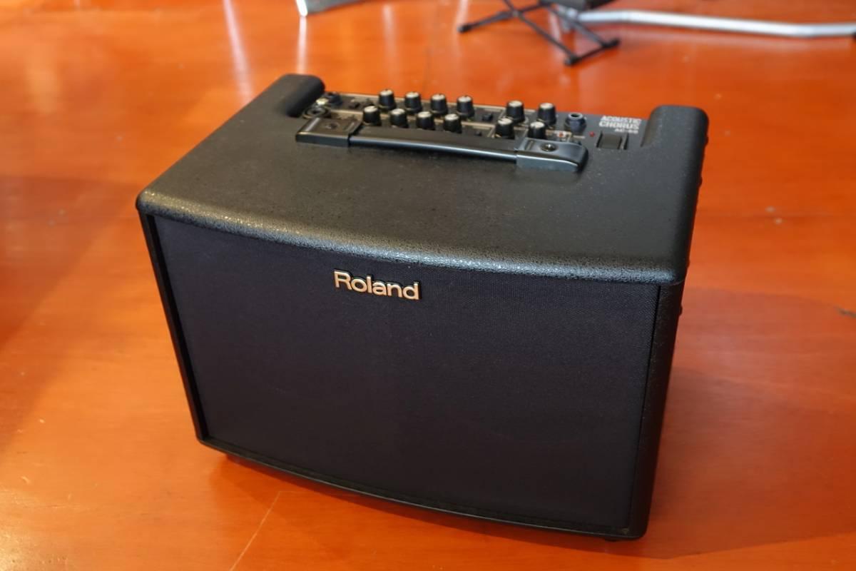 【1円スタート!】新品同様アコースティック・ギター・アンプ AC-60【Roland/ローランド】