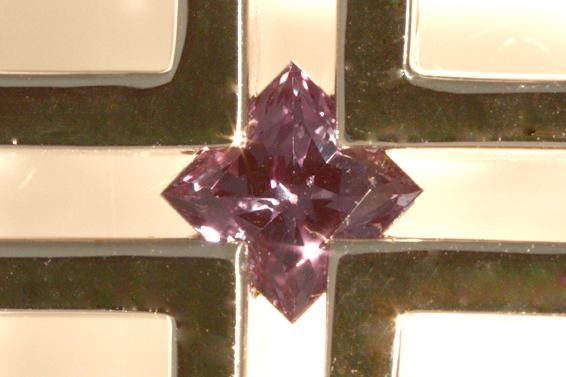 PR291535 ジェムケリー 0.3ct アレキサンドライト ダイヤ ネックレス 中央宝石研究所 鑑別書 ブラックスピネル_画像9