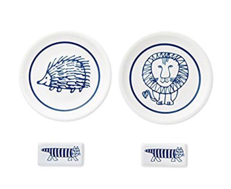 リサ・ラーソン 豆皿&箸置きセット 雑誌付録_画像3