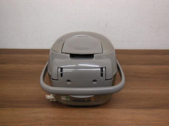 【1円スタ】象印 NP-NE10 真空圧力IH炊飯器(5.5合炊)極め炊き 2011年_画像10